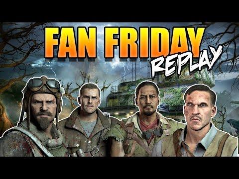 Fan Friday Zetsubou No Shima Replay Call of Duty Zombies BO3