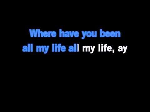 Rihanna Where Have You Been Karaoke video