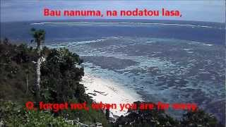 Isa Lei - The Fijian Farewell Song - With Lyrics from Fijian and English Version