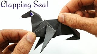 "Action Fun Animal Origami - Paper ""Clapping Seal (Sea Lion)"""