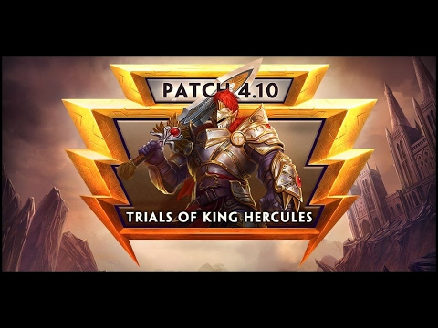 SMITE: Trials of King Hercules | 4.10 Patch Notes