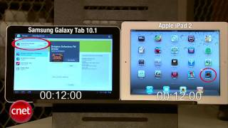 Samsung Galaxy Tab 10.1 vs iPad 2
