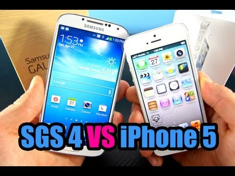 Samsung Galaxy S4 VS Apple iPhone 5 FULL Comparison