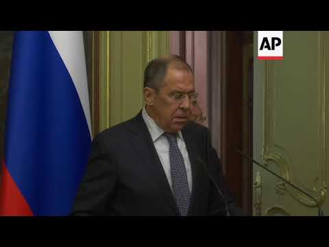 Lavrov: US Syria withdrawal needs actions
