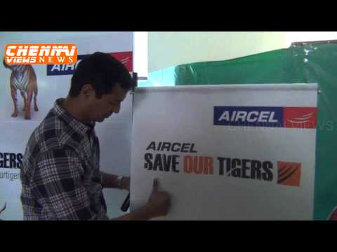 Aircel celebrates International Tiger Day with students