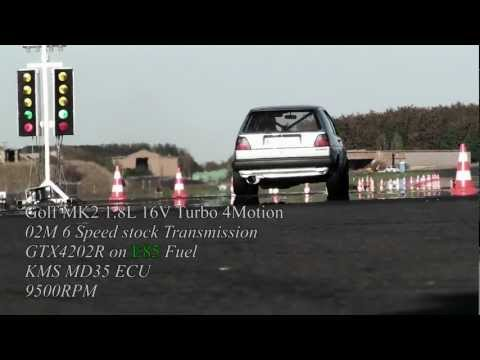 VW Golf MK2 AWD 900HP!!!  9,34s @ 256,8kmh FULL HD 16Vampir
