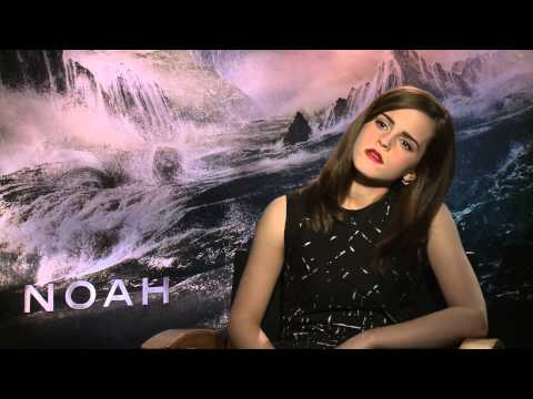 "Interview Emma Watson on Darren Aronofsky's ""Noah"" (MovieZine.se)"
