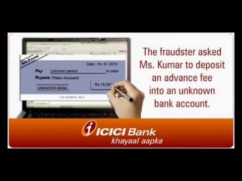 ICICI Bank: Beware of Online Scams