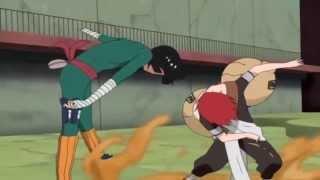Gaara vs Rock Lee | Full Fight | 720p
