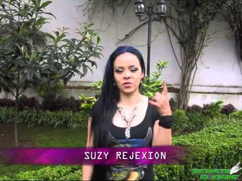 SUZY REJEXION Saludo para REVISTA SLIDERS