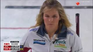 Double-raise double by Jennifer Jones (2017 Pinty's Skins Game)
