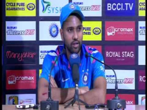 Rohit Sharma Press Meet after Victory of India against Sri Lanka at Eden Garden