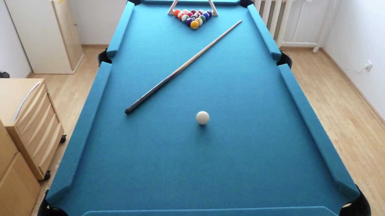 diy how to set up the pool table