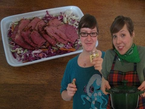 St. Patrick's Day : Corned Beef How-To : Funny Side Up