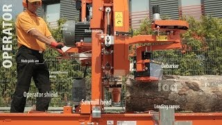 Wood-Mizer LT15 Professional Sawmill - Compact, reliable & profitable - Europe