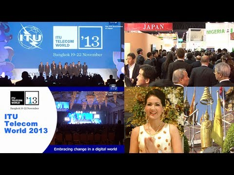 ITU Telecom World 2013 in Bangkok, Thailand 〜日本パビリオン NICT、三菱電機、NTTグループ、YAMAHA、NEC〜