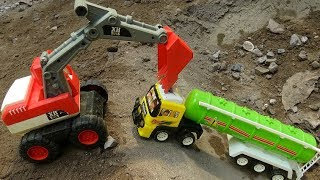 🚚 Car good excavator help the car S217A 🚚 Toys for kids 🚚
