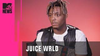 Juice WRLD on XXXTentacion, Lil Peep, Death, Drugs & Anime   MTV News