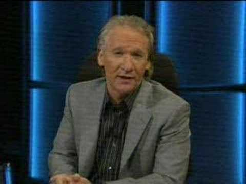 Bill Maher on Ted Haggard scandal.