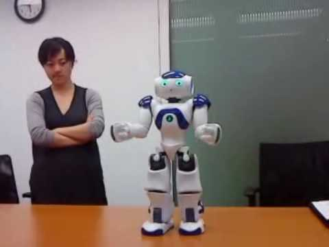 NAO demonstration 1