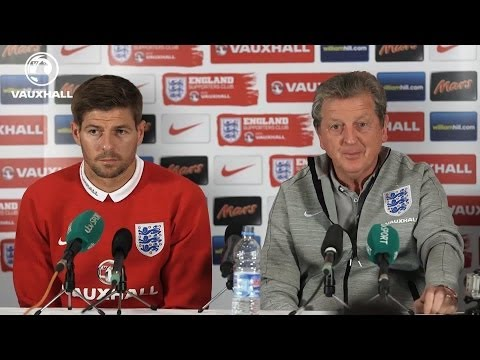 Roy Hodgson on Rooney and Sturridge | Press Pass