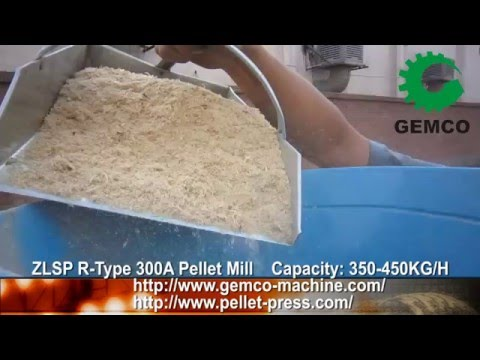 Make Wood Pellets and Biomass Pellet Mill For Sale