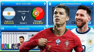 Portugal 🆚 Argentina 🏆 Final Gameplay 🎮 Dream League Soccer 2019 ⚽ Full HD