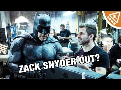 What Does the DC Shakeup Mean for the DCEU and Zack Snyder? (Nerdist News w/ Jessica Chobot)