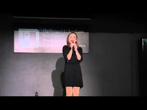 Anna Nowak, Ogólnopolski Konkurs Recytatorski Poezji śpiewanej I Teatru Jednego Aktora