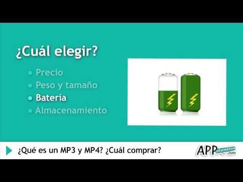 ¿Qué es un MP3 y MP4? ¿Cuál comprar?    l APPinformatica.com