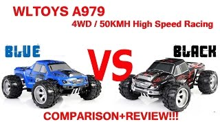 WLTOYS A979 Monster Truck full review and comparison. RC, 4WD, 50KMH, Bought on Gearbest.com