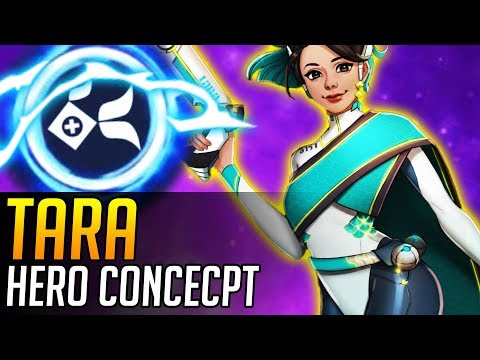 Overwatch | NEW HERO CONCEPT: Tara (Support Hero)