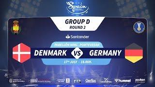 #Handtastic | PR - Group D | Denmark : Germany