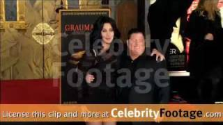 Cher Hand and Footprint Ceremony (18.11.2010)