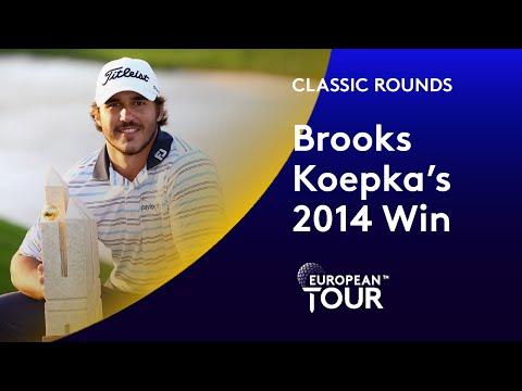 Brooks Koepka's 2014 Turkish Open Win | Classic Round Highlights