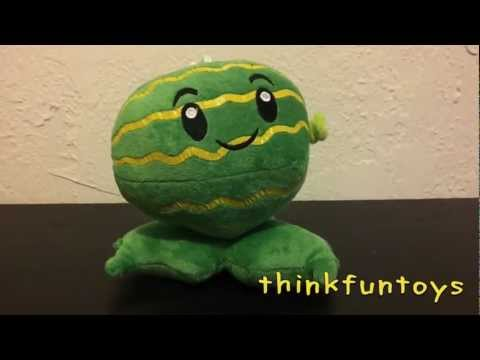 Plants vs Zombies Melon-Pult Watermelon Plush Doll
