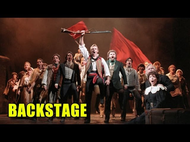 Les Misérables Video Backstage - Cantando dal vivo sul set