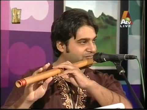 pyaar bhare do sharmile nain on flute.mpg