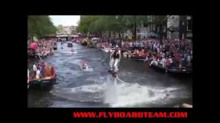 FLYBOARD TEAM SHOW GAYPRIDE CANALPRIDE FLYBOARDSHOW