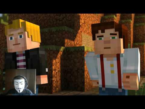 #4 Часть (Minecraft Story Mode)(Башня Ордена Камня Найдена)