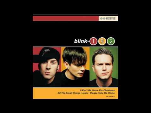 Blink 182 I Won't Be Home For Christmas With Lyrics
