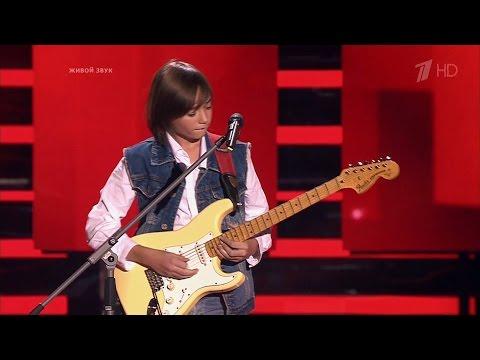 The Voice Kids Russia 2016. Vladimir (Владимир Черноклинов) — «Maybe I Maybe You». Голос Дети 3