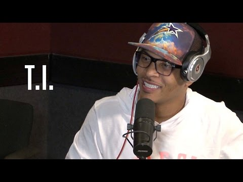 T.I. hangs out with  Ebro in the Morning!