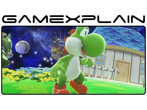 Yoshi in Smash Bros Wii U & 3DS Gameplay (High Quality!)
