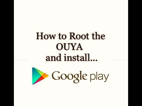 How to Root the OUYA and install Google Play Store. Super User & More in 5 minutes (Links Below)