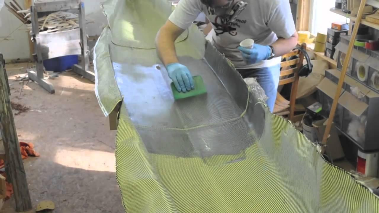 Fiberglass Kevlar Amp Carbon On The Interior Youtube