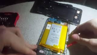 ZTE ZMax Pro Teardown battery replacement