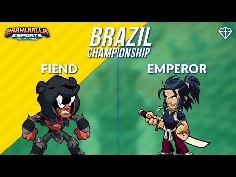 Fiend vs Emperor - BRZ 1v1 Top 3 - Brazil Championship