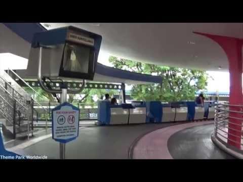 Tomorrowland People Mover On Ride POV - Magic Kingdom Walt Disney World