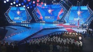 В Сочи прошла торжественная церемония закрытия III зимних Всемирных военных игр